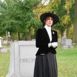 Guided walking tour of Forest Home Cemetery including live performances.